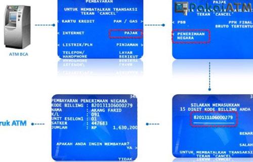 Cara Bayar PBB via ATM BCA