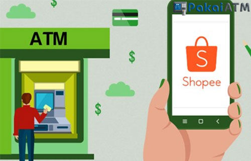 Langkah langkah Pembayaran shopee via ATM Mandiri ke Rekening Mandiri Shopee