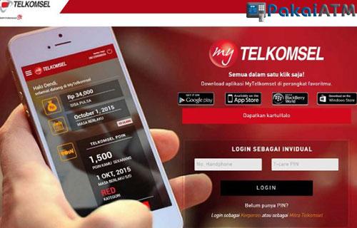 Cara Bayar Tagihan Kartu Halo Lewat My Telkomsel