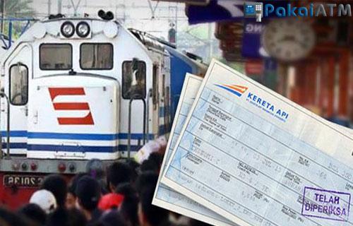 Cara Bayar Tiket Kereta Api Via ATM BRI