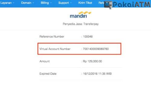 Cara Bayar Virtual Account via Mobile Banking