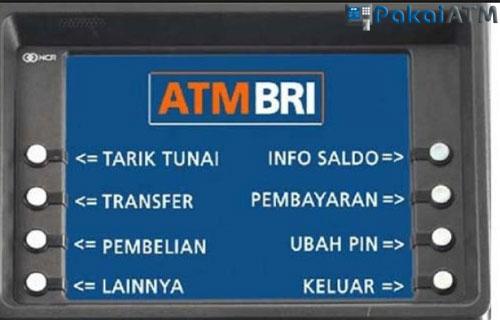 Cara Transfer Uang via ATM BRI ke sesama BRI
