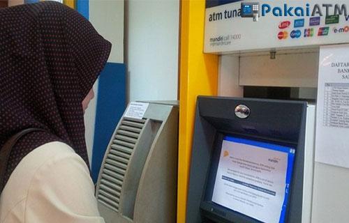 Cara bayar Oriflame Via ATM Mandiri