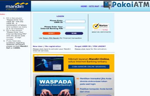 Cara Bayar Home Credit via Internet Banking Mandiri