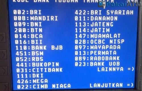 Kode-Bank-BNI-untuk-Transfer-via-ATM