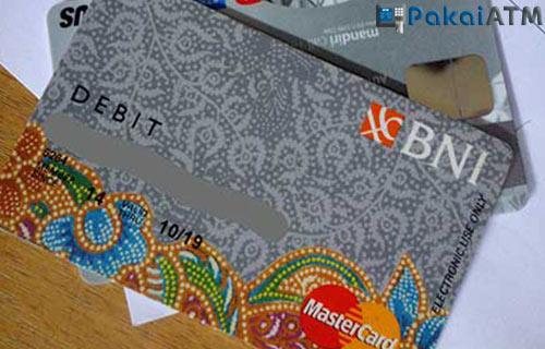 1. Kartu ATM BNI Silver