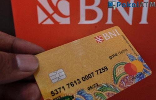 2. Kartu ATM BNI Gold