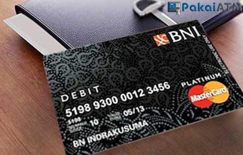 3. Kartu ATM BNI Platinum