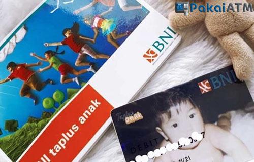 6. Kartu ATM BNI Taplus Anak