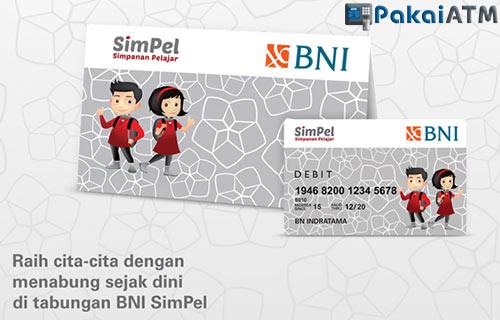 9. Kartu ATM BNI Simpanan Pelajar