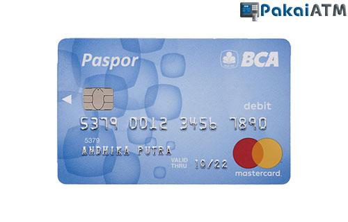 1. Kartu ATM BCA Silver atau Blue