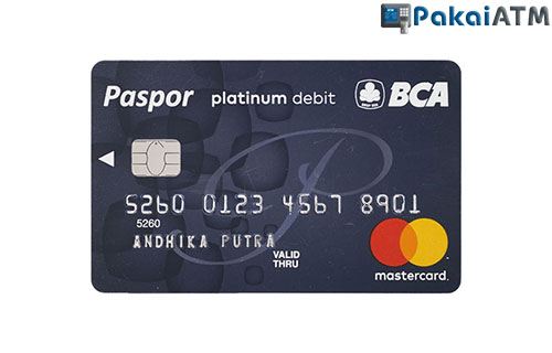 3. Kartu ATM BCA Platinum