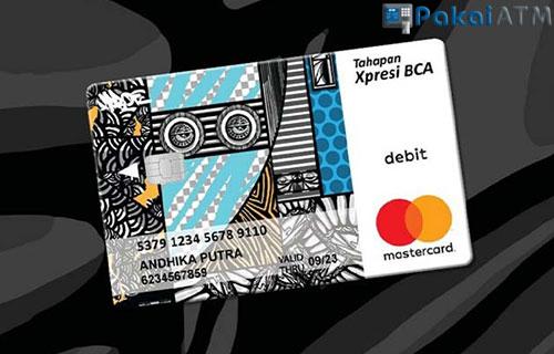 7. Kartu ATM BCA Xpresi