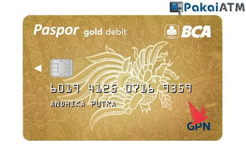 5. Kartu ATM BCA GPN Gold