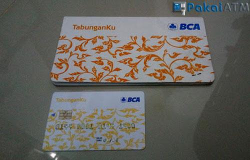 8. Kartu ATM Tabunganku BCA