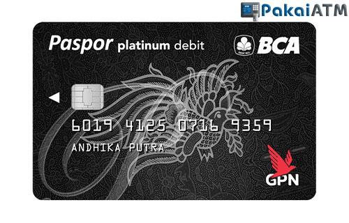 6. Kartu ATM BCA GPN Platinum