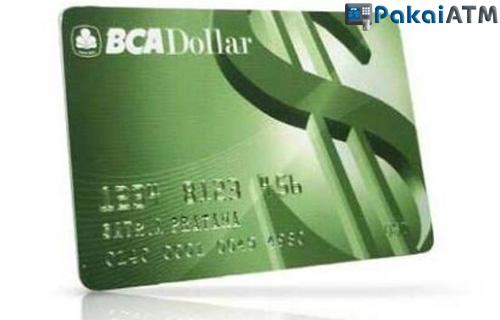 10. Kartu ATM BCA Dollar