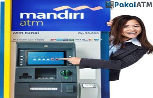 Langkah langkah Top Up Dana Via ATM Mandiri