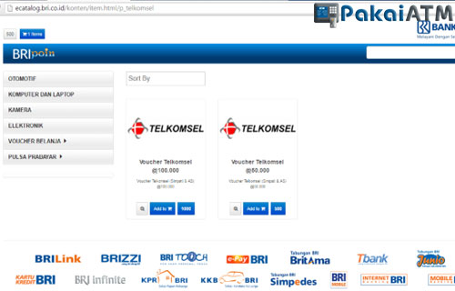 Mengatasi ATM BRI Terblokir via Website