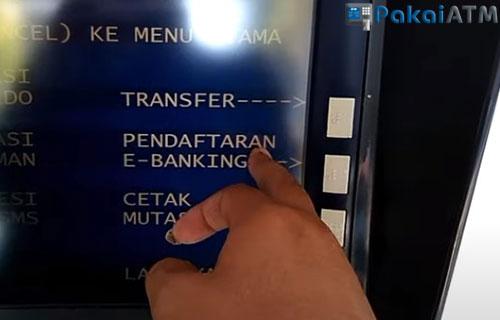 Pendaftaran E Banking