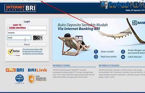 Melalui Internet Banking
