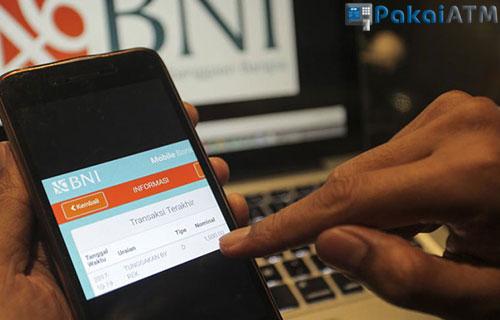 Cara Cek Mutasi BNI Via Aplikasi Mobile Banking