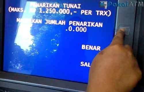 Batas Pengambilan Uang di ATM BRI