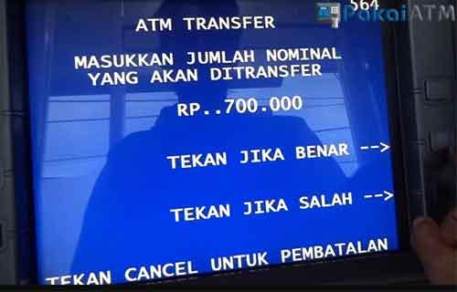 Batas Transfer Sesama BRI