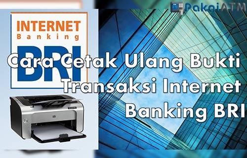 Cara Cetak Bukti Transfer Internet Banking BRI Cepat dan Mudah