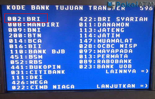 Cara Transfer Uang Lewat ATM Mandiri Ke BRI