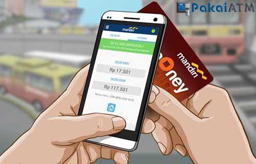 Cara Update Saldo e Money Via Mandiri Online