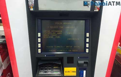 Cara Update Saldo e Money di ATM