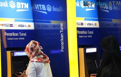 Contoh Cetak Rekening Koran Bank BTN di ATM