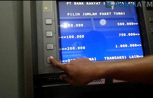 Menabung Lewat Mesin ATM BRI