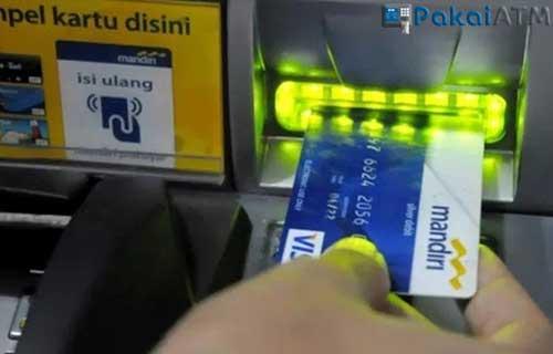 Cara Cek Nomor Rekening Mandiri di ATM