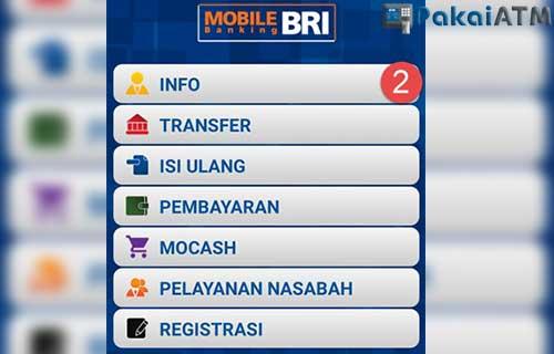Cara Cek Transferan Masuk via BRI Mobile