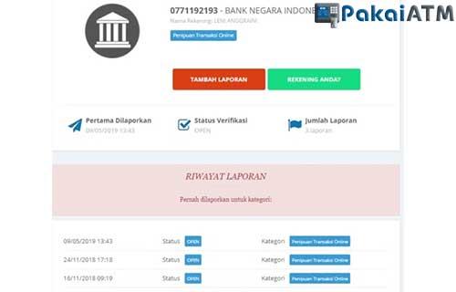 6 Cara Melacak Nomor Rekening Penipu Melalui Website 2020 Pakaiatm