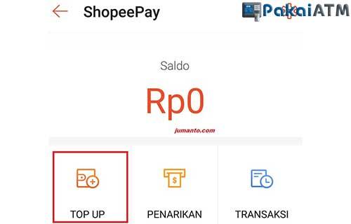 20 Cara Top Up Shopeepay Lewat Atm Bca 2021 Pakaiatm