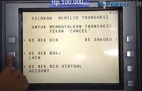 Ke Rekening Bank Lain