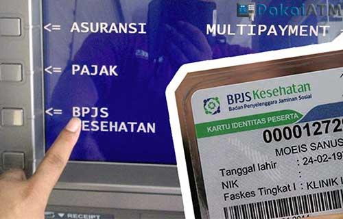 Cara Bayar BPJS di ATM Mandiri