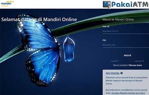 Cara Bayar BPJS via Mandiri Online