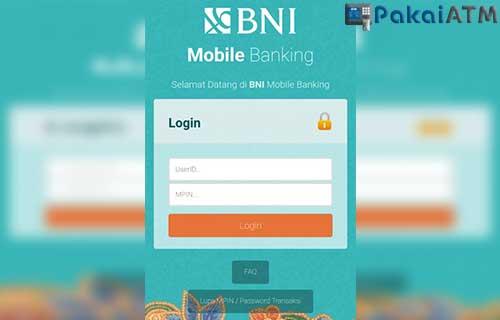 Cara Bayar Home Credit via BNI Mobile
