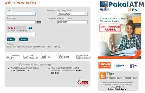 Cara Bayar Home Credit via Internet Banking BNI