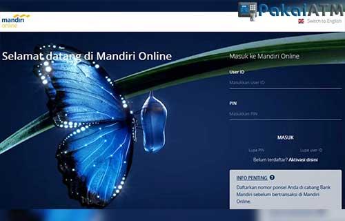 Cara Bayar Lazada Melalui Aplikasi Mandiri Online