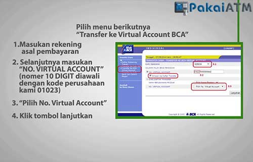 Cara Bayar MNC Play ke Rekenening BCA Virtual Account