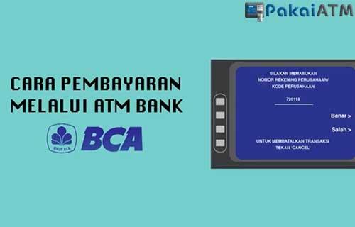Cara Bayar MNC Play via ATM BCA