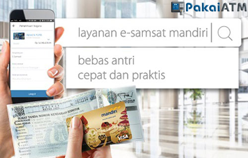 Cara Bayar Pajak Motor Lewat ATM Mandiri Terbaru