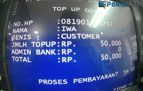 Cara Isi Gopay Lewat ATM Mandiri Paling Praktis