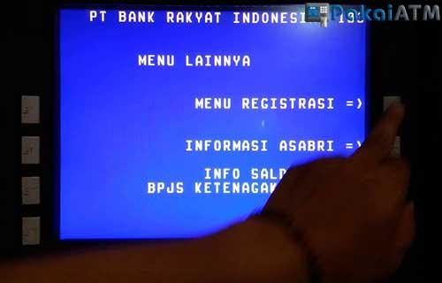 Cara Registrasi No HP di ATM BRI Paling Mudah