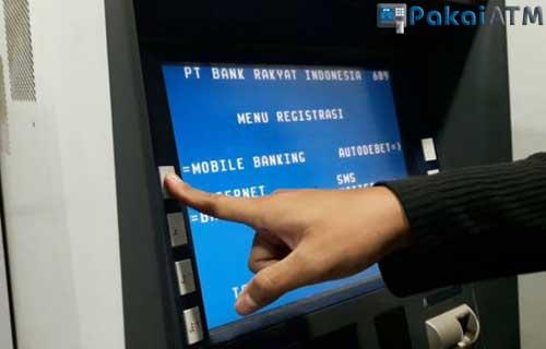 Cara Registrasi No HP di ATM BRI